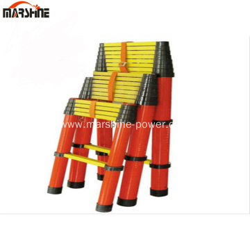 Insulated Telescopic Ladder Multi Section Protective Tools